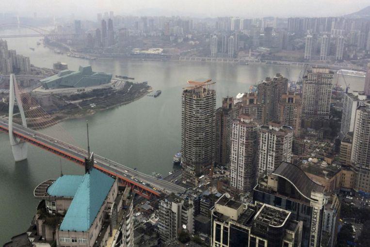 ភ្លៀងធ្លាក់ខ្លាំងនាំមកនូវទឹកជំនន់ដល់តុងណាន ចិន ឆុងឈីង – Chongqing